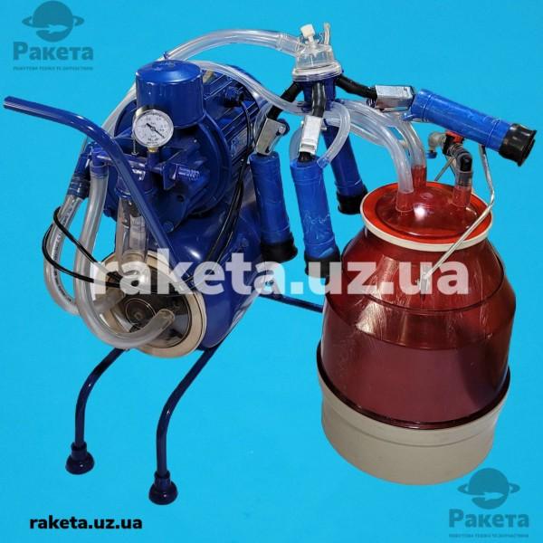 Доїльний апарат ГАМАК-3000 КОРОВА (рез Д 041) відро полікарбонатне 20л