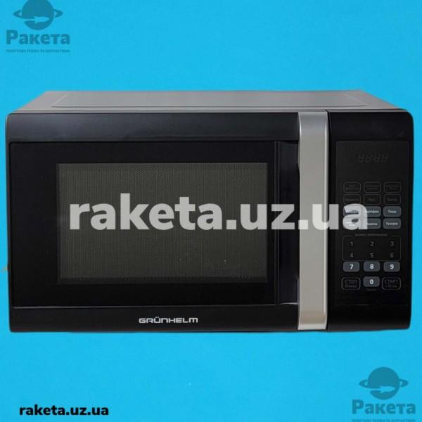Мікрохвильова піч Grunhelm 23MX823-B чорна 23л 800W 11 рівнів потужності, електрон управління таймер 100 хв