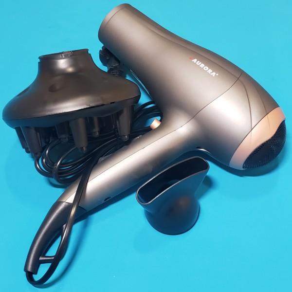 Фен Aurora AU 3205 1600/2000W 2 скорості 3 режима температур насад концентратор, дифузор