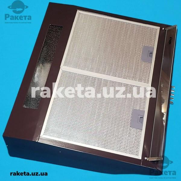 Кух витяжка VENTOLUX ROMA LUX 60 BR плоска коричнева 1 двигун