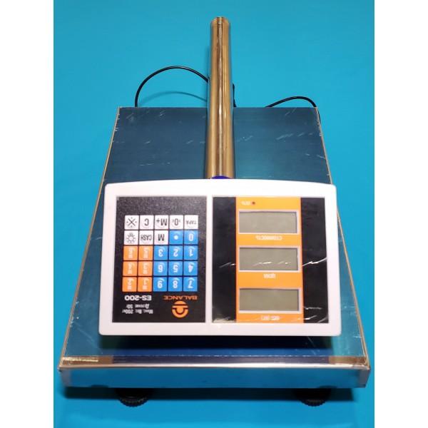 Ваги торговельні електронні Balance 200 кг зі стійкою