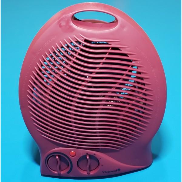 Тепловентилятор Vilgrand VF2011 Red 1000/2000W 3 режими холод термостат 8 ЧЕРВОНИЙ