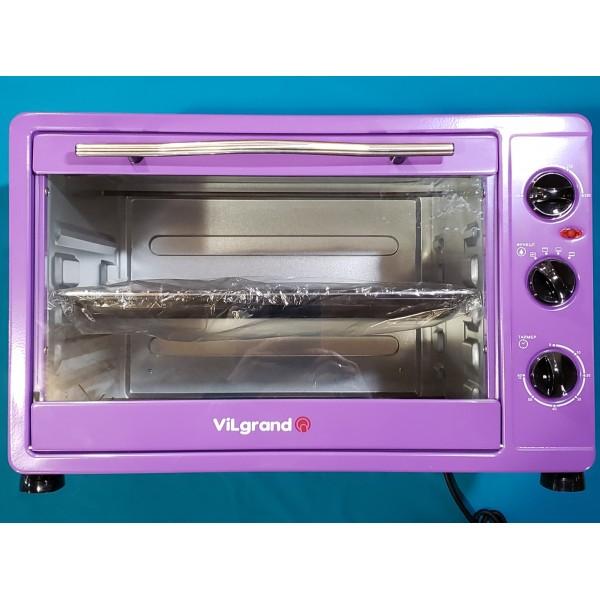 Піч електрична Vilgrand VEO482 Purple 2000W 48л регулювання температури таймер ФІОЛЕТОВА