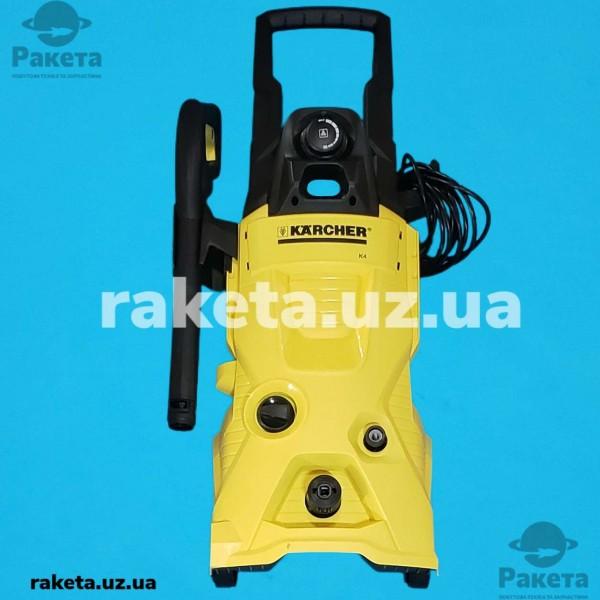 Мийки високого тиску KARCHER K4+щітка WB60 потужність 1800 Wt макс тиск 130 бар 420л/год продуктив 30 кв м/год вага 11.8 кг