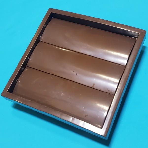 Решітка вентиляційна KRZ d=100/125 brown