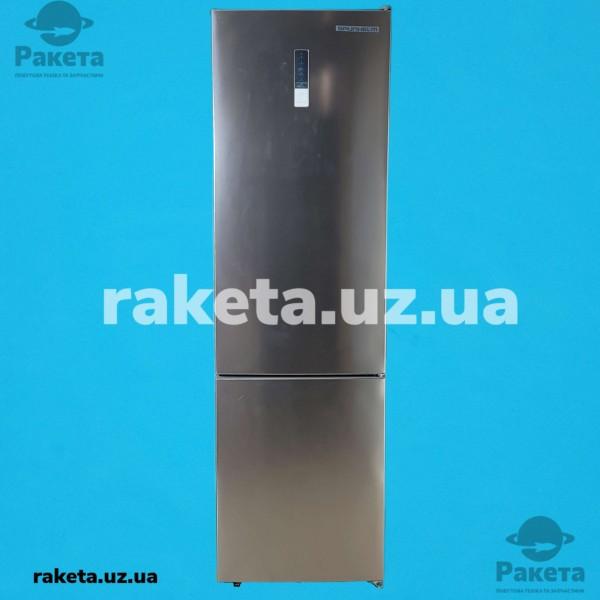 Холодильник Grunhelm GNC-200MLX нержавіюча сталь 2-х камерний нижня камера NO Frost 2010х595х630 245/76