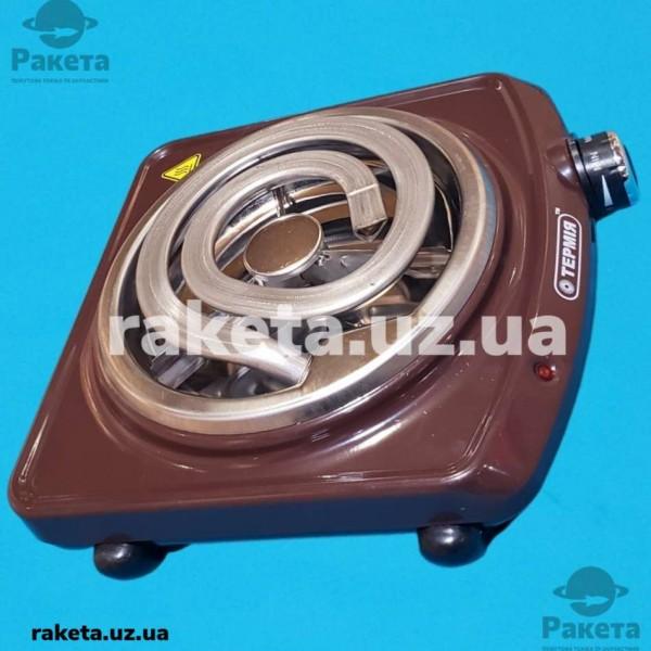 Електро плита настільна Термія мечта 1-1.0/220 1 камфорна коричнева
