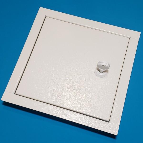 Металеві ревізійні дверки ДРМ 50/50 білі