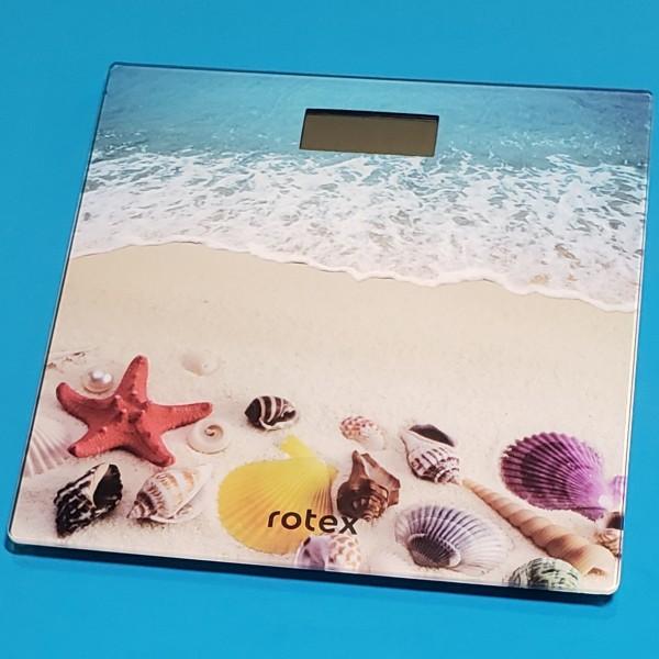 Ваги підлогові електронні Rotex RSB17-P макс вага 180кг LCD дисплей автовикл індикатор перенавантаж платформа 300*300 мм