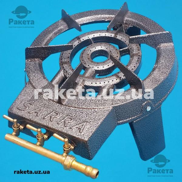 Газова чавунна плита SARRA GB-21 9.2 кВт на 3 контури