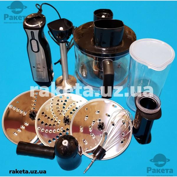 Блендер Rotex RТB810-B 1000W 2 швидкості нога нержавіюча сталь чаша 1,75 л вінчик мірний стакан