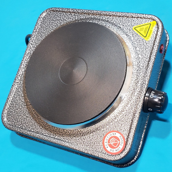 Плита електрична Vilgrand VHP151F Gray 1000W 1-но камфорна БЛИН елемент d=150 мм СІРА