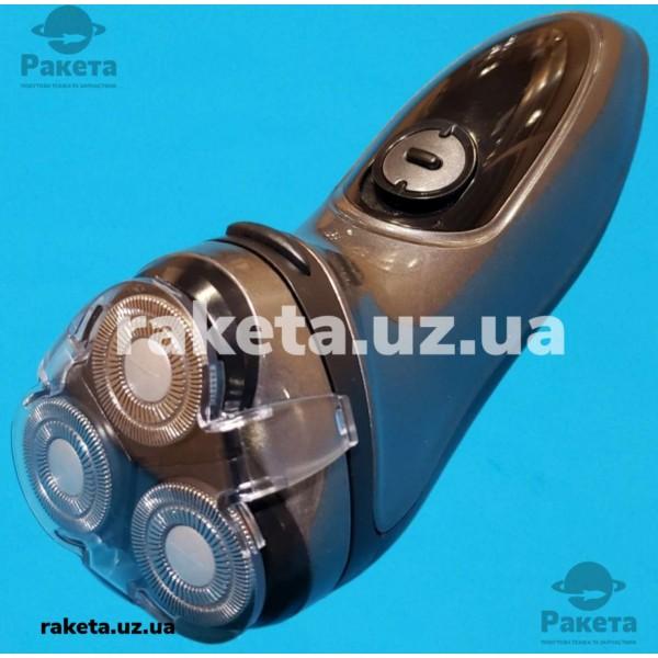 Електробритва Aurora AU 3542 акумулятор плаваюча головка подвійні леза 60хв тример