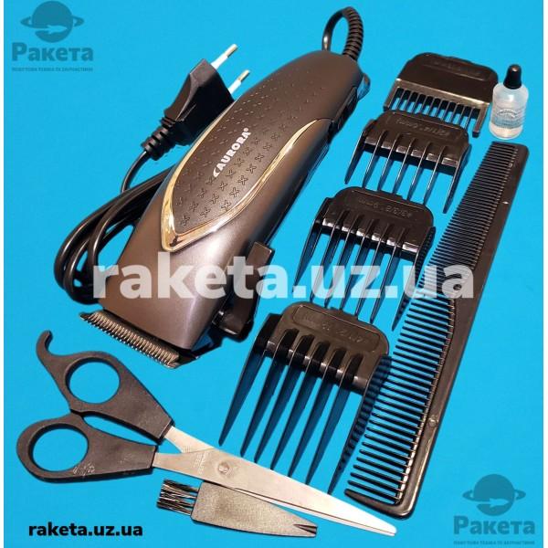 Машинка для стрижки Aurora AU 3081 10W 4 насад компл масло,ножн,щітка,гребін