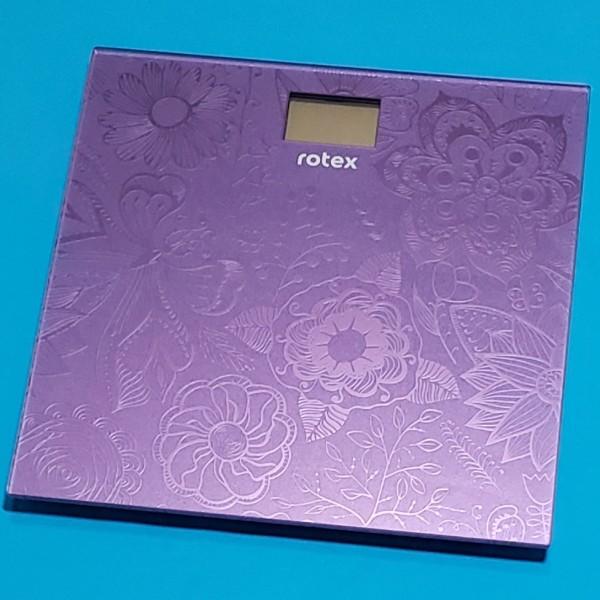 Ваги підлогові електронні Rotex RSB07-P макс вага 150кг LCD дисплей автовикл індикатор перенавантаж платформа 260*260 мм