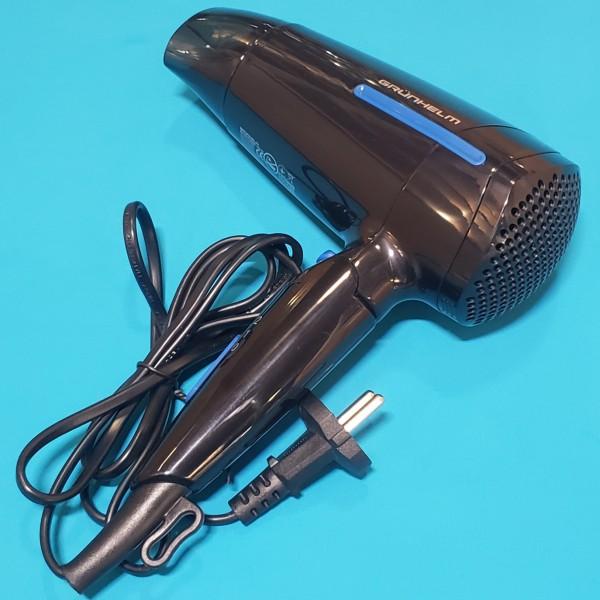 Фен для сушіння волосся GRUNHELM GHD-532 1800 Вт 2 швидкості 2 режими тепла дорожній