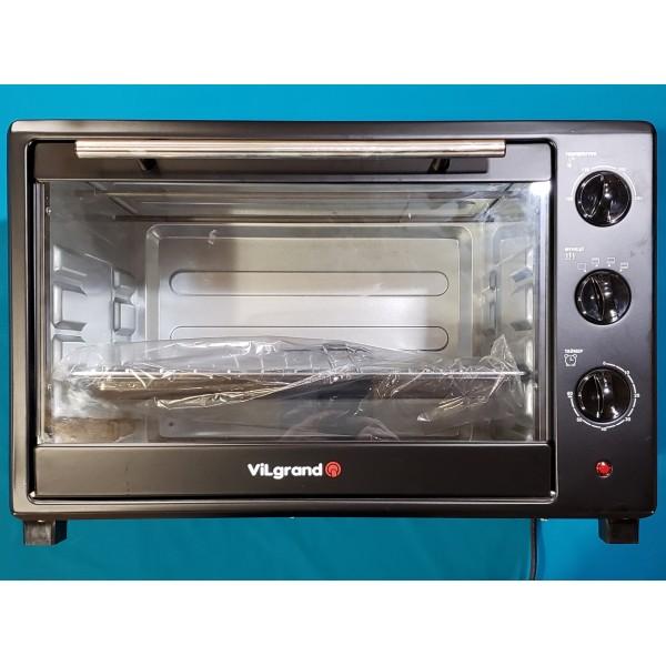 Піч електрична Vilgrand VEO480-10 Black 2000W 48л регулювання температури таймер ЧОРНА