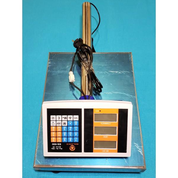 Ваги торговельні електронні Balance 100 кг зі стійкою
