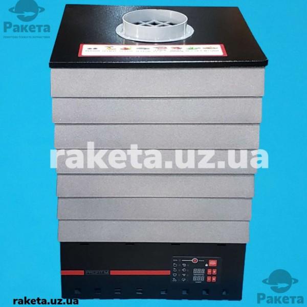 Електросушарка для овочів та фруктів PROFIT М ЕПС-2 Е чорна 35л електронне управління