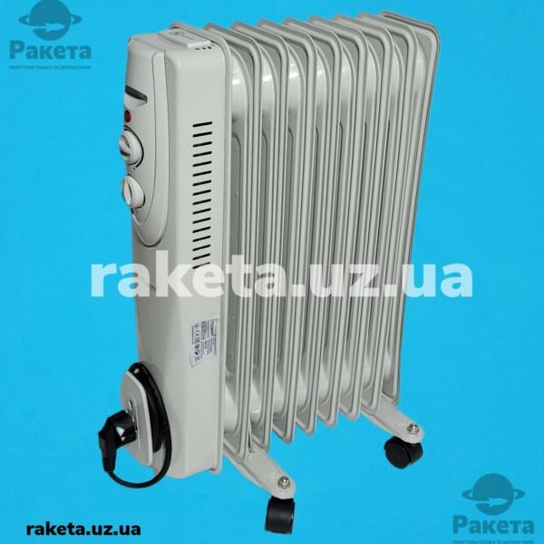 Масляний радіатор Maestro MR 951-9 800/1200/2000W 9 ребер термостат індикат робот захист від перегріву