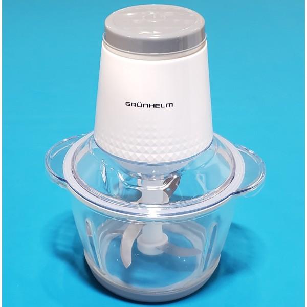 Блендер Grunhelm EBS-500G 500W 1 швидкості пластик термоскло резин антиковз ніжки