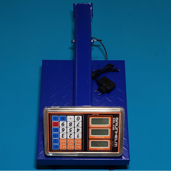 Ваги торгові Grunhelm GSC-150 макс вага 150 кг NEW