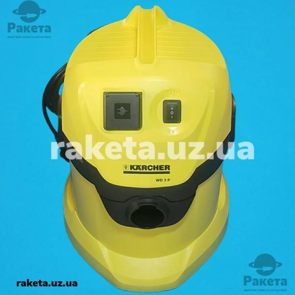 Порохотяг господарчий KARCHER WD 3P споживча потужність 1000Вт потужність всмоктування 1400Вт бак 17л кабель 4м вага 5.7кг