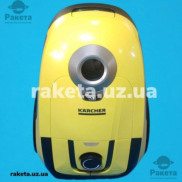 Порохотяг господарчий KARCHER WC 2 жовтий потужність 1100Вт міскість фільтр-мішка 2л вага 5.1кг