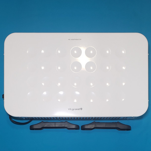 Обігрівач конвекційний Vilgrand VCH7143U_White 2000W стіна підлога 750/1250/2000W, терморегулятор БІЛИЙ