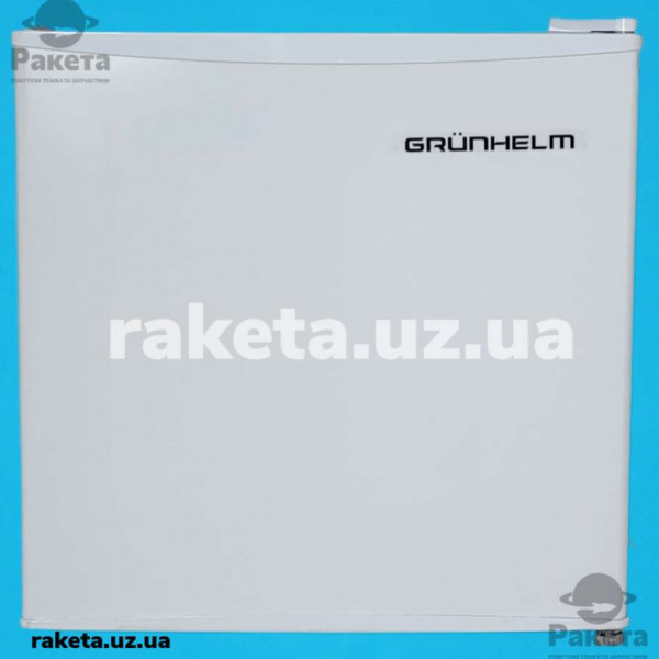 Холодильник Grunhelm GF-50M білий однокамерний барний 50см 472х450х292