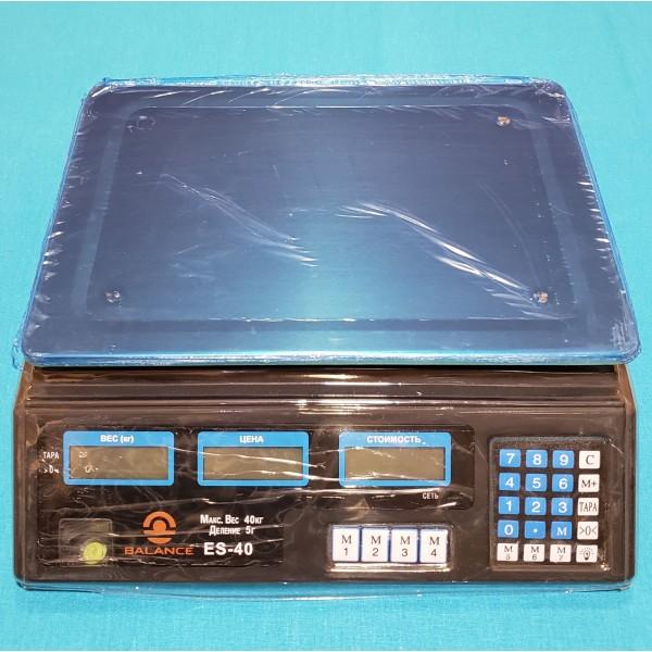 Ваги торговельні електронні Balance 40 кг
